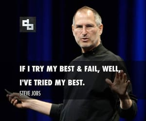 apple, motivation, and Steve Jobs image