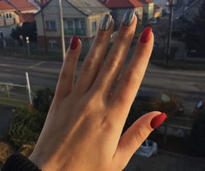 chrome, girly, and nail art image