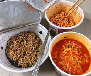 food, delicious, and korean image
