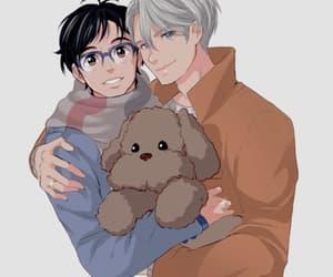 anime, cute boy, and yaoi image
