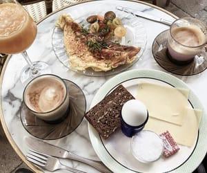 breakfast, drinks, and food image