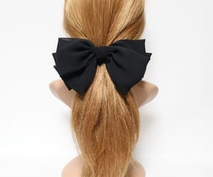 etsy, adult hair bow, and chiffonhairbow image