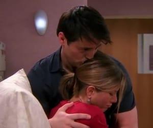 hug, joey tribbiani, and kiss image