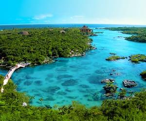 travel, playa del carmen, and natural wonder image