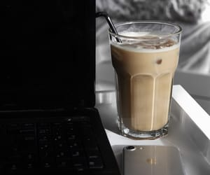 coffee, iced coffee, and minimalistic image