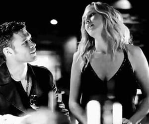 caroline forbes, klaus mikaelson, and tvd image