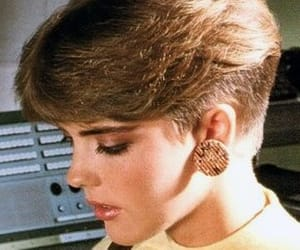 80s, girl, and short hair image