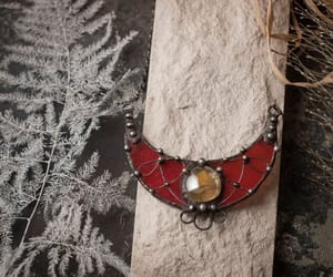 stain glass, witch necklace, and womennecklace image