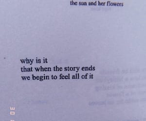 quotes, book, and sad image