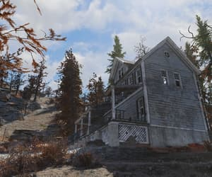 fallout, house, and outdoors image