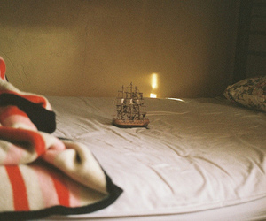 photography, bed, and vintage image