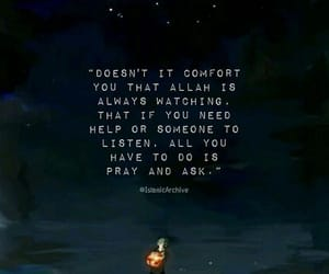 allah, comfort, and guidance image