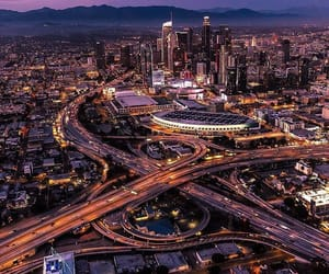 california, city, and city of angels image