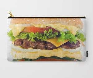 acessories, bag, and hamburger image