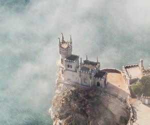 castle and sea image