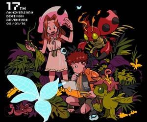 mimi, digimon, and digimon adventure image