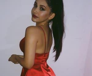 girl, makeup, and ponytail image