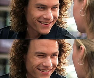 heath ledger, smile, and 10 things i hate about you image