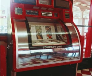jukebox, old, and red image