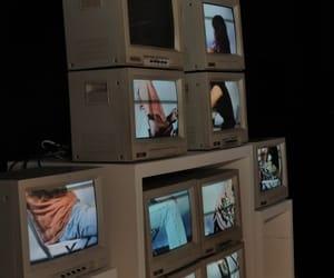 tv, grunge, and theme image