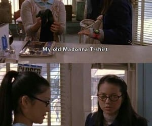 funny, gilmore girls, and madonna image
