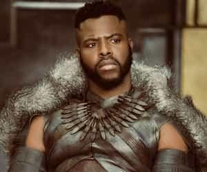 Marvel, m'baku, and black panther image