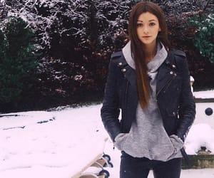 eleanor calder, fashion, and snow image