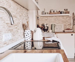 beautiful, interior, and kitchen image