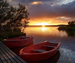 boat and nature image