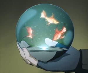 anime, gif, and egao no daika image
