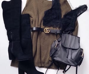 belt, fashion, and outfit image