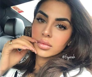 make up beauty, goal goals life, and brunette baddie image