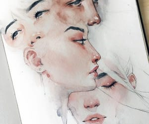 art, face, and inspiration image