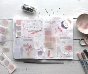 art journal, craft, and diy image