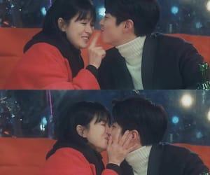 boyfriend, couple, and Korean Drama image