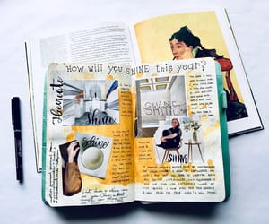 Art Book, books, and diary image