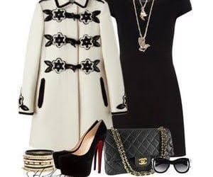 conjunto, dress, and outfit image