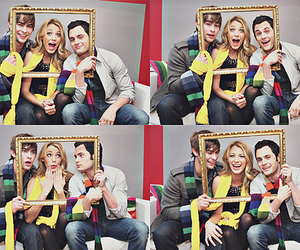 blake lively, Chace Crawford, and dan humphrey image