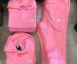 jumpsuit, nike, and pink image