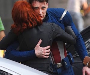 captain america, Avengers, and black widow image