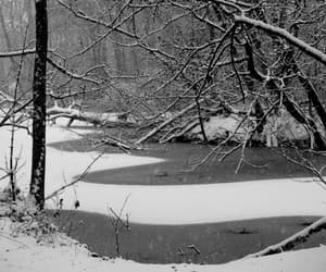 gif, landscape, and snow image