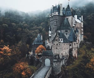 beautiful, castle, and nature image