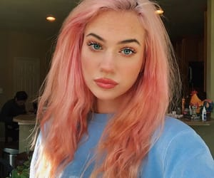 cabelo, girls, and pink image