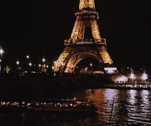 beautiful, night, and paris image