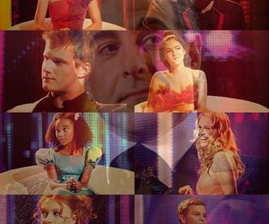 the hunger games, Clove, and cato image
