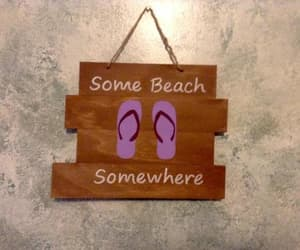 etsy, flip flops, and summer decor image