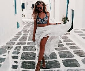 fashion, summer, and Greece image