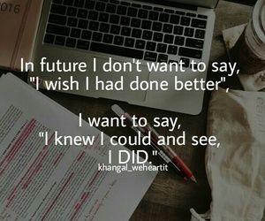 Dream, exams, and future image