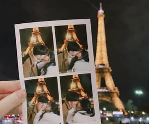asia, couple, and paris image