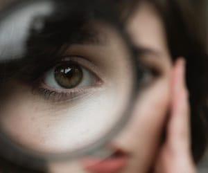 aesthetics, brunette, and eyes image